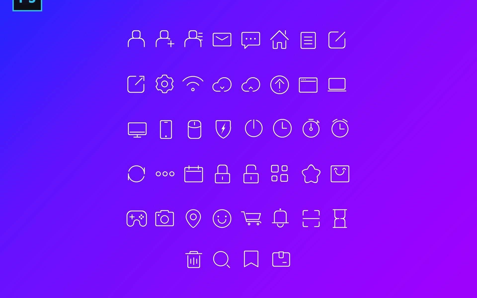 Free Stroke Icons